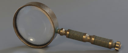 MAGNIFYING GLASS for OCTANE and CYCLES