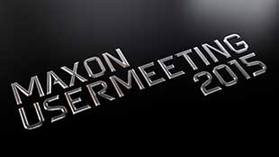 MAXON USERMEETING 2015